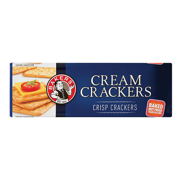 Bakers Cream Crackers  200g