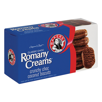 Bakers  Romany Creams 200g