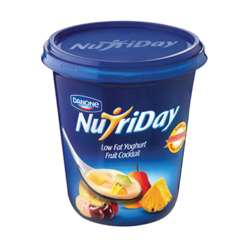 Danone Nutriday Fruit Yogurt 1kg