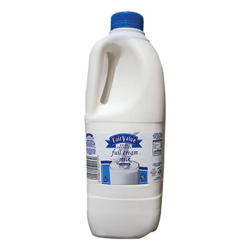 Fair Value Full Cream Milk 2lt