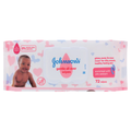 Johnsons Baby Wipes 72's