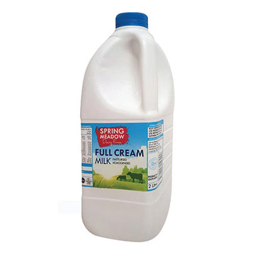 Spring Meadow Full Cream Milk 2lt