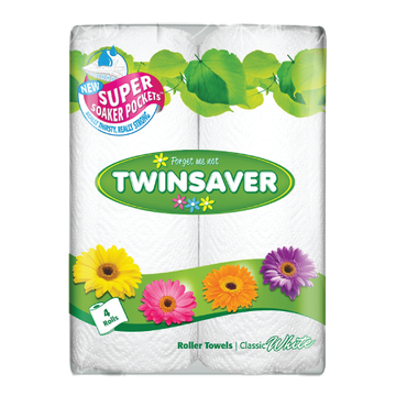 Twinsaver Roller Towels 4's