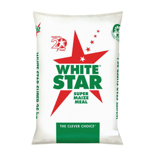 White Star Maize Meal 20kg