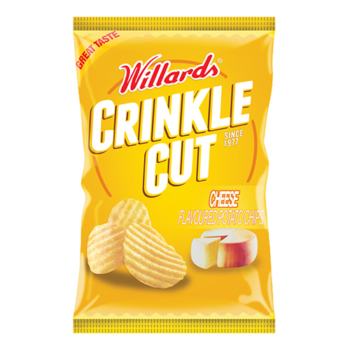 Willards Crinkle Cut Potato Chips 125g