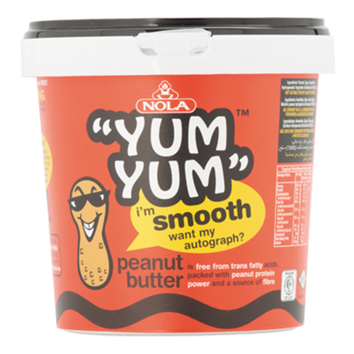 Yum Yum Peanut Butter Smooth 1kg