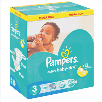 Pampers Diapers Mega Box