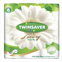 Twinsaver Luxury Toilet Tissue 18's