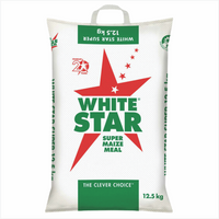 White Star Maize Meal 12,5kg