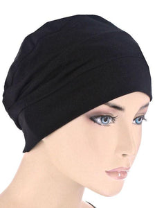 Cloche Cap in Black - Wigsisters