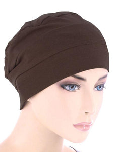 Cloche Cap in Brown - Wigsisters