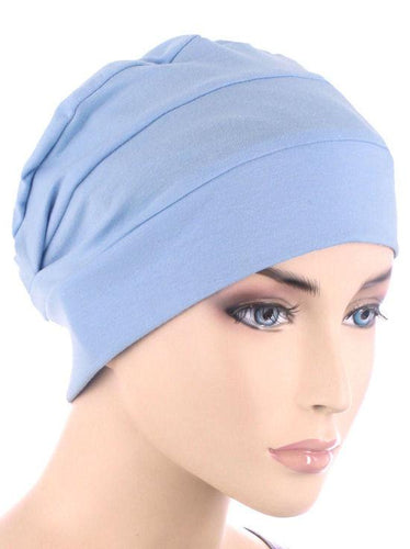 Cloche Cap in Light Blue - Wigsisters