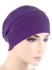 Cloche Cap in Purple - Wigsisters