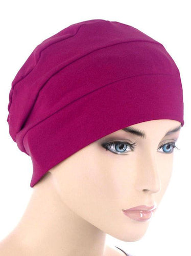 Cloche Cap in Plum - Wigsisters