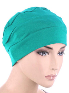 Cloche Cap in Turquoise Green - Wigsisters