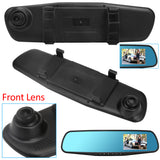 4.3 inch Car DVR Camera Mirror Dash Cam DVR Vehicle Security Rear View Mirror Parking Accident Video Recorder Rearview Mirror