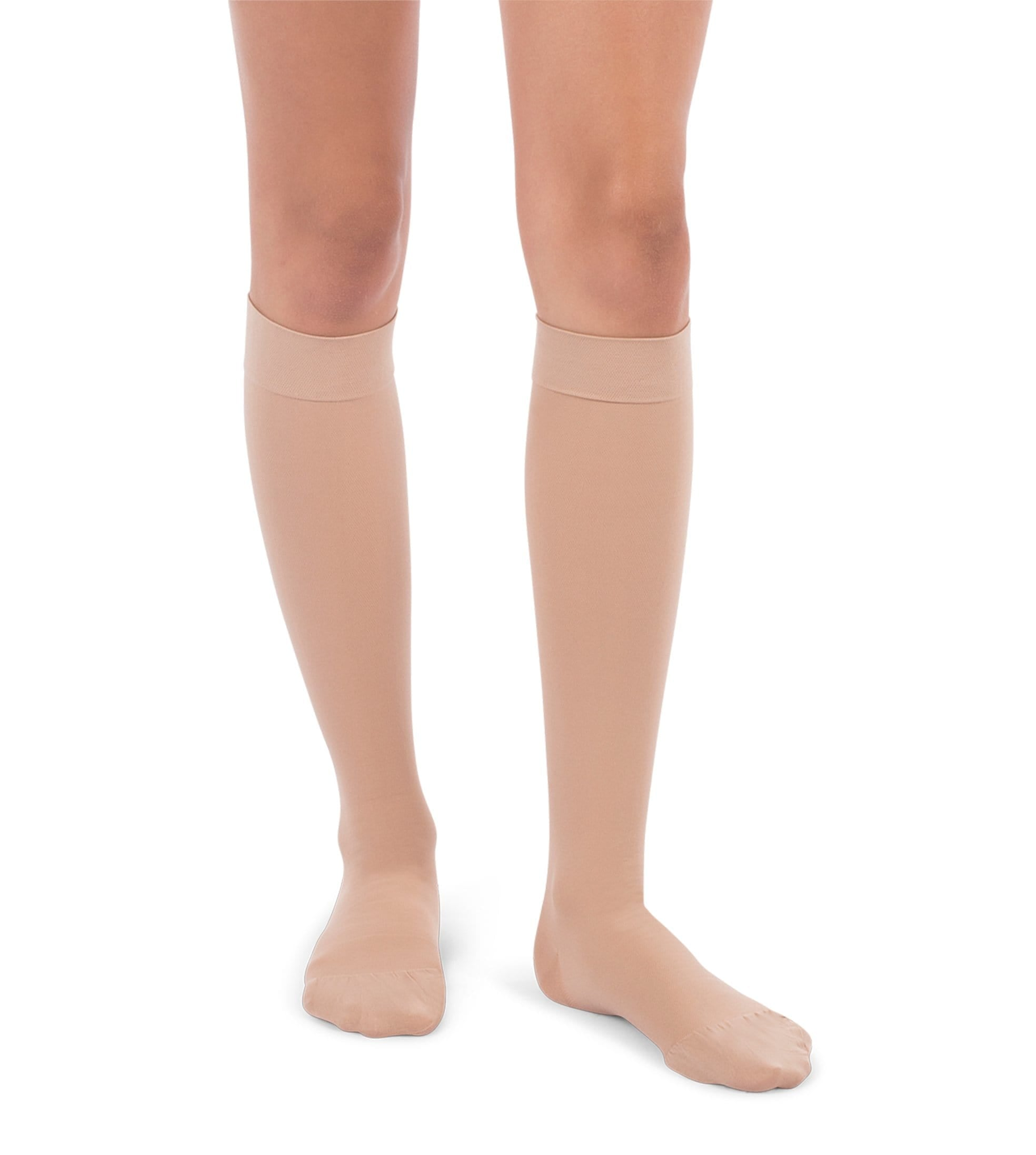 Knee High Compression Stockings, 20-30mmHg Surgical Weight Closed Toe 220