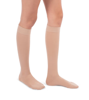 Compression Knee High Stockings, 20-30mmHg Surgical Weight Closed Toe, Petite Short 222