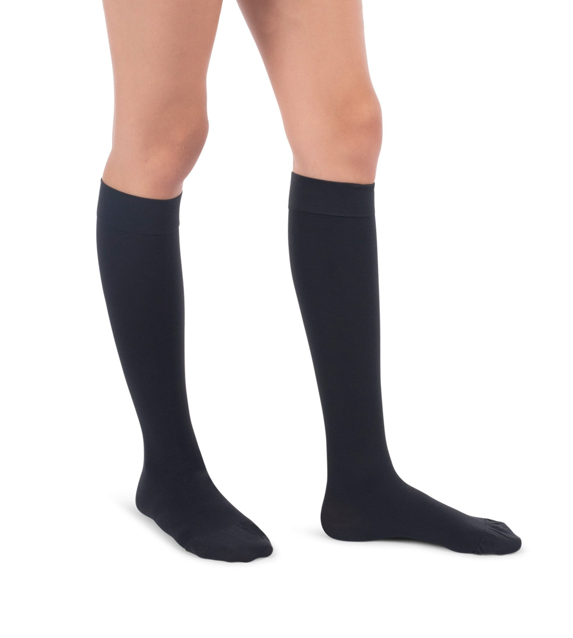 Knee High Compression Stockings, 20-30mmHg Surgical Weight Closed Toe, Petite Short 222