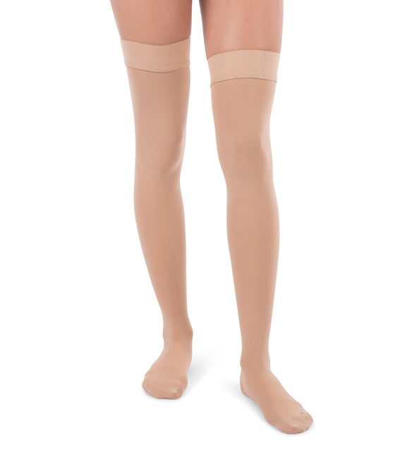 Thigh High Compression Stockings, 20-30mmHg Surgical Weight Closed Toe 240