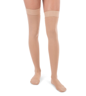 Compression Thigh High Stockings, 30-40mmHg Surgical Weight Closed Toe 340
