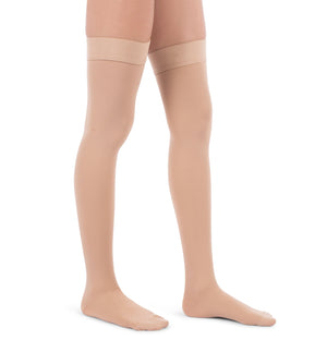 Compression Thigh High Stockings, 20-30mmHg Surgical Weight Closed Toe 240
