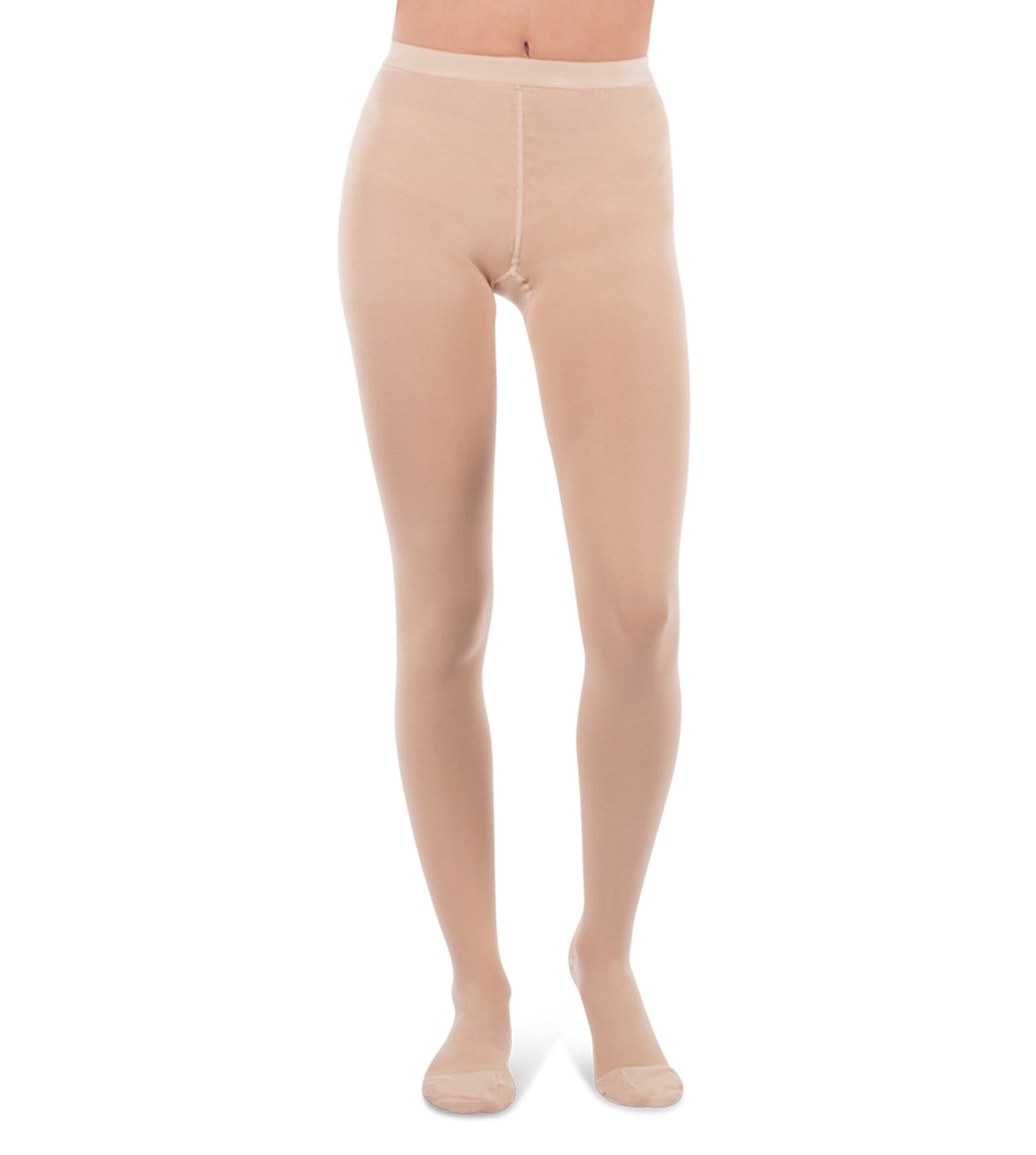 Womens Compression Pantyhose, 20-30mmHg Surgical Weight Closed Toe, Petite Short 272