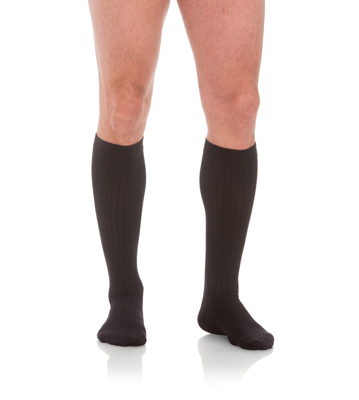 Mens Compression Socks, 30-40mmHg Microfiber 302