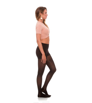 Compression Womens Pantyhose, 15-20mmHg Sheer Closed Toe 176