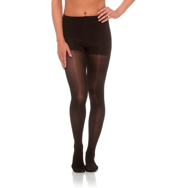 Womens Compression Pantyhose, 15-20mmHg Sheer Closed Toe 176