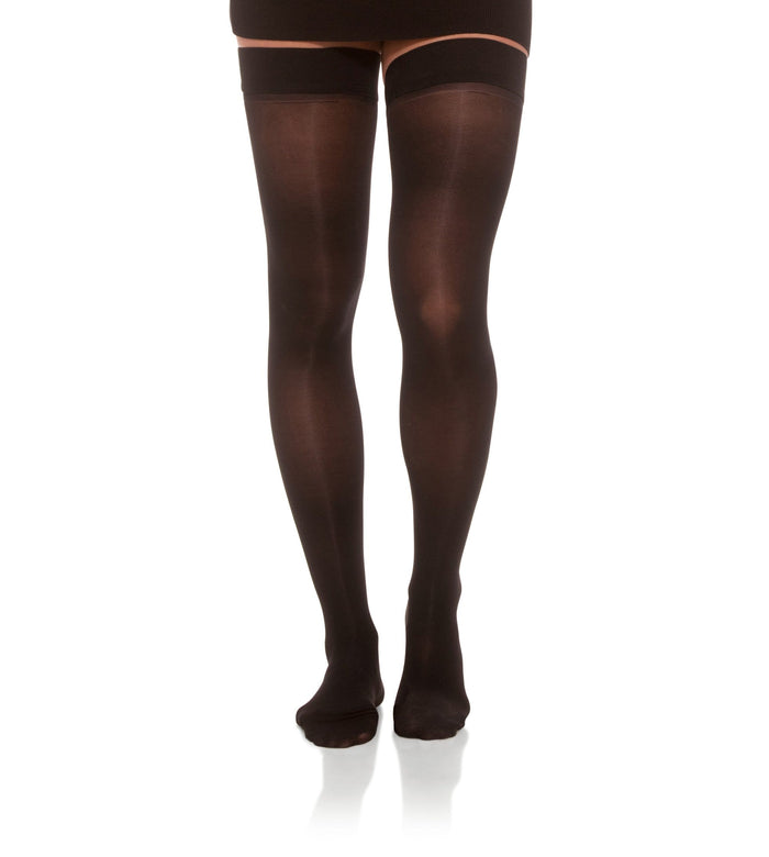 Compression Thigh High Stockings, 30-40mmHg Sheer Closed Toe 345