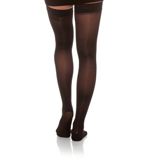 Compression Thigh High Stockings, 8-15mmHg Sheer Closed Toe 045