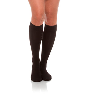 Compression Knee High Stockings, 20-30mmHg Opaque Closed Toe 230