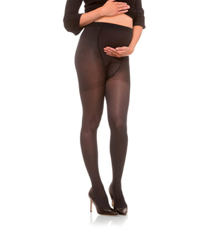 Womens Maternity Compression Pantyhose, 20-30mmHg Opaque 282