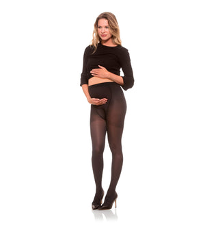 Compression Womens Maternity Pantyhose, 20-30mmHg Opaque 282