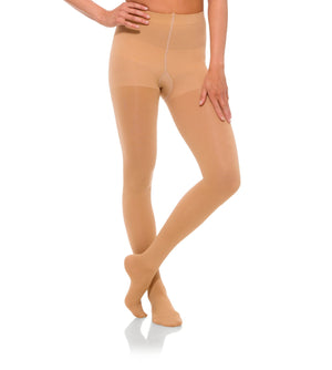 Compression Womens Pantyhose, 15-20mmHg Opaque Closed Toe 174