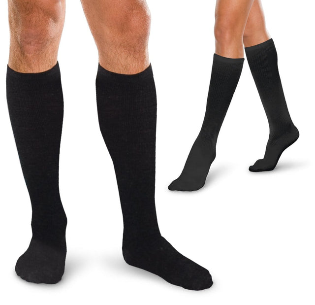 Therafirm Core-Spun Compression Knee High Socks 30-40 mmHg