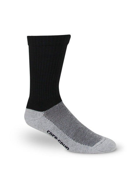 Therafirm Core-Spun Compression Crew Socks 10-15 mmHg