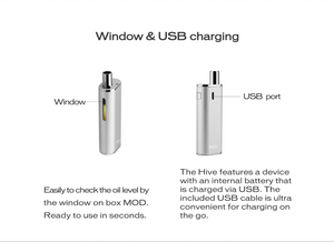 Hive Vaporizer by Yocan USB Charging