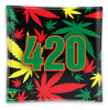 Rasta 420 Shatterproof Glass Ashtray