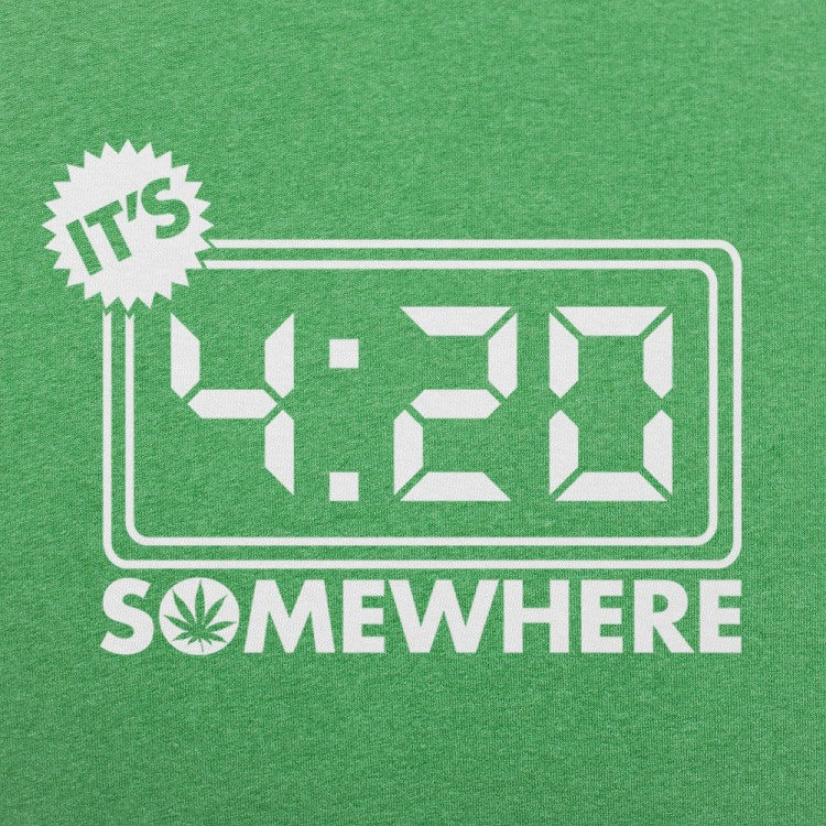 It's Four-Twenty Somewhere T-Shirt (Mens)