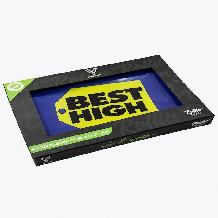 Best High Shatterproof Glass Tray in box