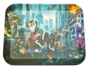 Limited Edition Biodegradable Bamboo Fiber Rolling Tray Avengers Infinity War