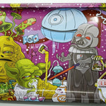 Rolling Tray Dab Wars play on Star Wars original art by Dunkees