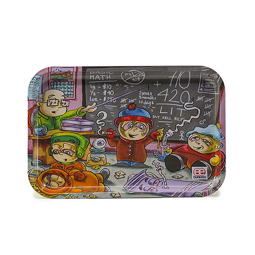 Southpark Rolling Tray Kenny Cartman Life Lesson original art by Dunkees