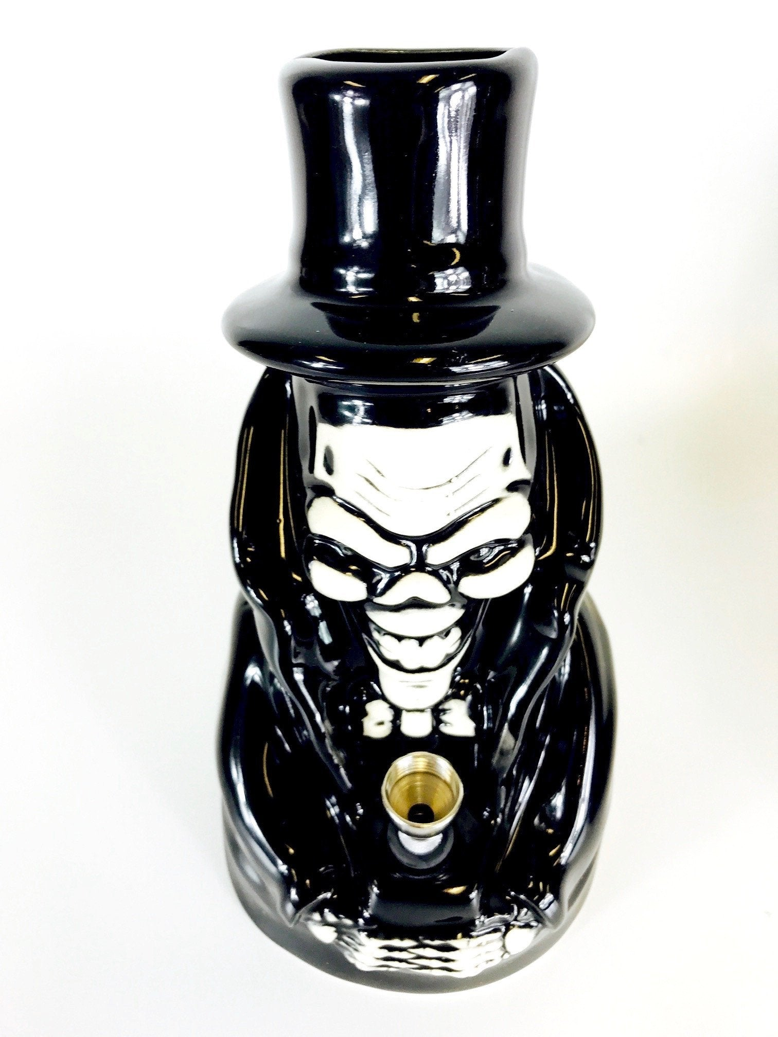 Fat Skull Ceramic Water Pipe