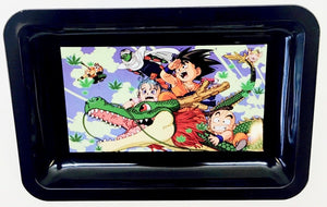 "Metal Rolling Tray ""Goku"" - Small"