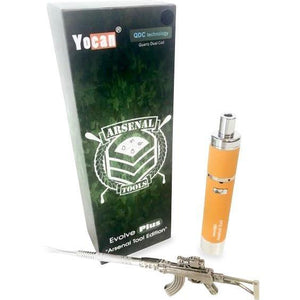 Arsenal Edition Evolve-PLUS Wax Vaporizer Kit Orange