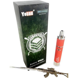 Arsenal Edition Evolve-PLUS Wax Vaporizer Kit Red