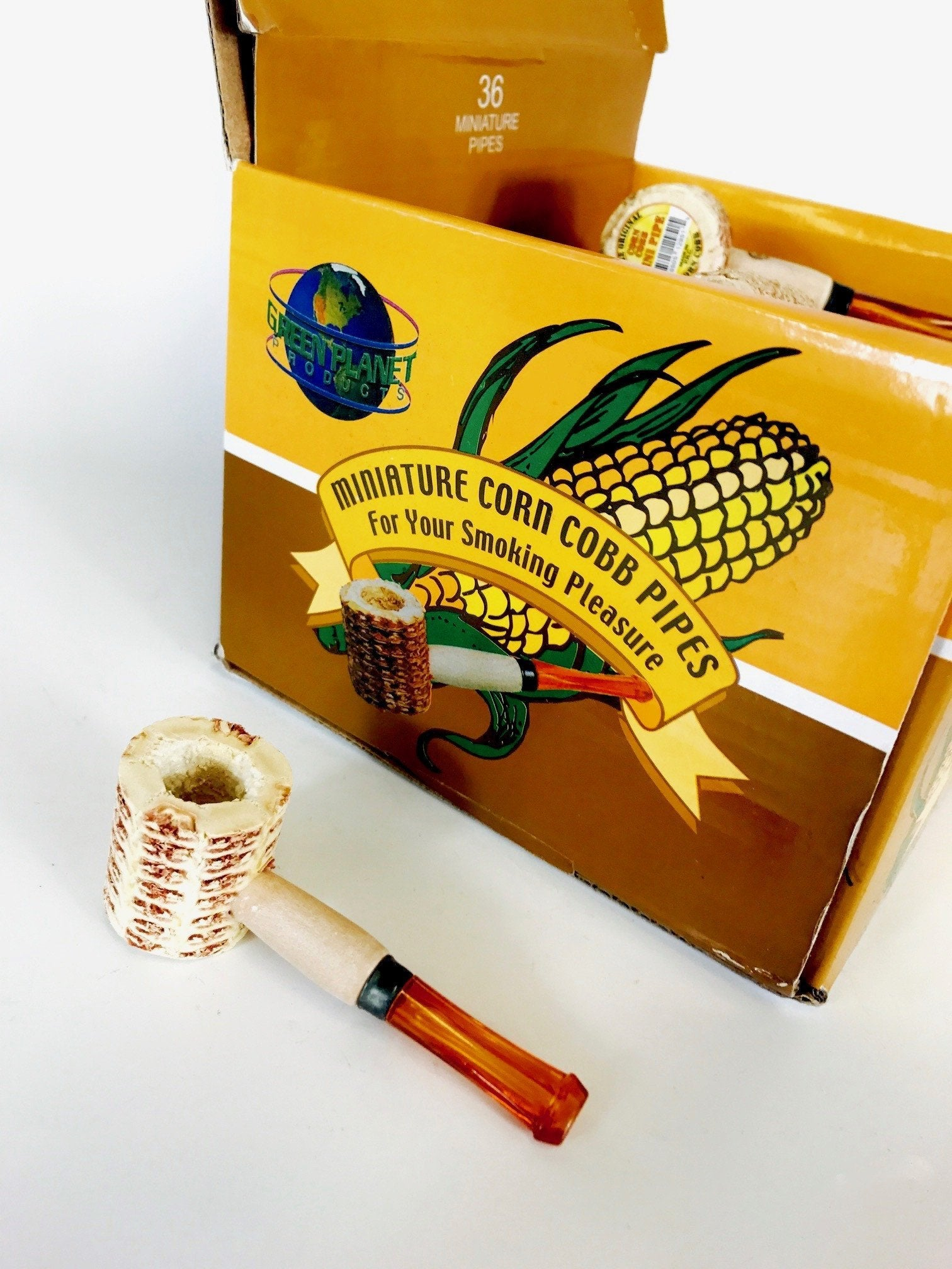 Miniature Corn Cobb Pipe
